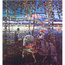 Couple Riding - Kandinsky - Limited Edition on Canvas