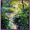 LLado Trail of Flowers Hand Signed Limited Ed. Serigraph