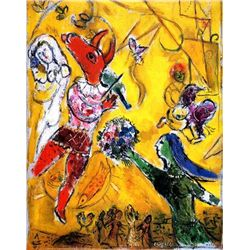 Marc Chagall  The Dance & Circus