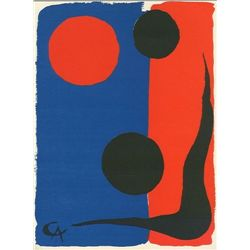 Alexander Calder Original Lithograph, 1966