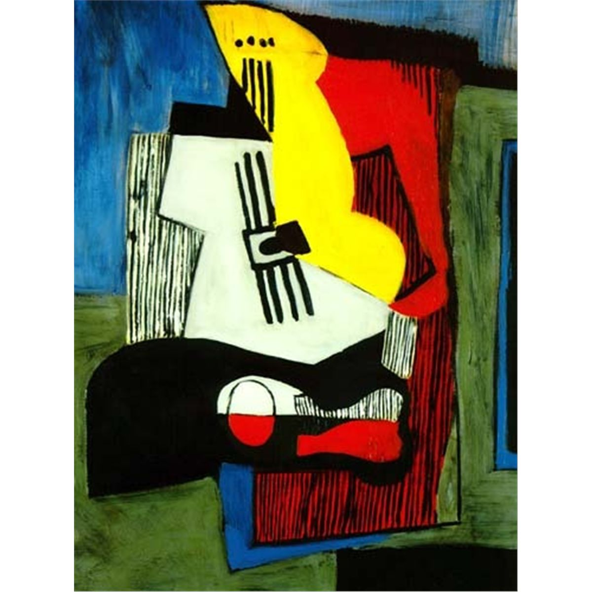 Picasso Quot Still Life With Guitar Quot