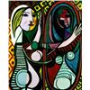 Picasso &quot;Girl Before A Mirror&quot;