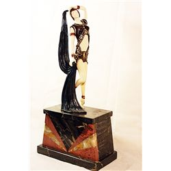 Yambo - Bronze and Ivory Sculpture by Chiparus