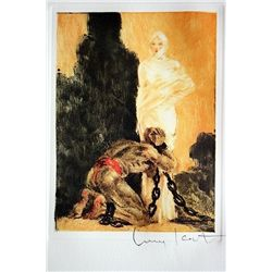 Original Louis Icart Lithographs from Le Faust suite - Shackled Soul