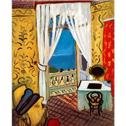 Interior with A Violin Case - Matisse - Limited Edition on Canvas