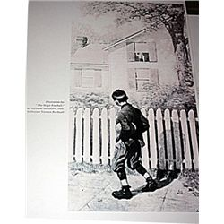 Norman Rockwell Lithograph-