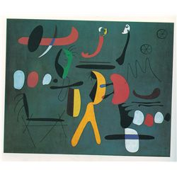 Painting - Miro - Limited Edition on Canvas