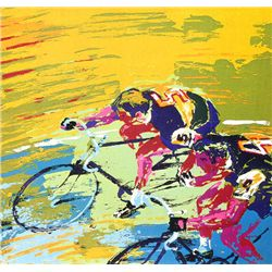 Leroy Neiman Signed Limited Edition Serigraph - Indoor Cycling
