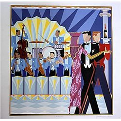 Carl Impaglia Original Hand Signed and Numbered Serigraph - The Big Band