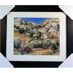 Pierre August Renoir  Limited Edition-Rocky Crags at L'Estaque