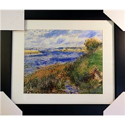 Pierre August Renoir  Limited Edition-Seine at Camprosay