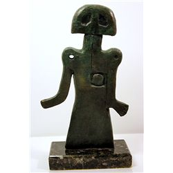 Rufino Tamayo  Original, limited Edition  Bronze - GIRL