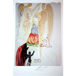 Original Salvador Dali Woodblock - Signed
