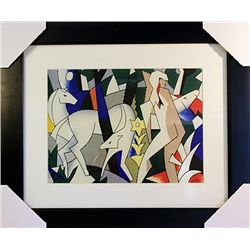 Roy Lichtenstein Limited Edition-Forest Scene