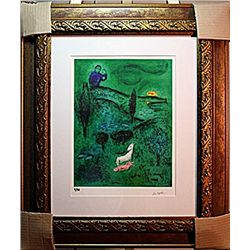 Marc Chagall Limited Edition - Lamon Discovers Daphnis