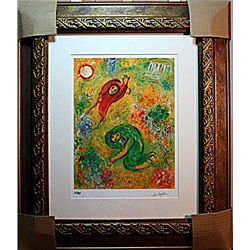 Marc Chagall Limited Edition - The Trampled Flowers