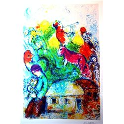 Marc Chagall Limited Edition - Shofar
