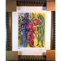 Marc Chagall Limited Edition - Le Cirque 498