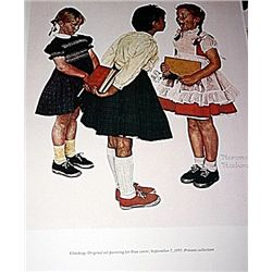 Norman Rockwell Lithograph-Checkup