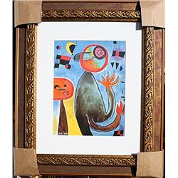 Ladders Cross the Blue Sky - Miro - Limited Edition