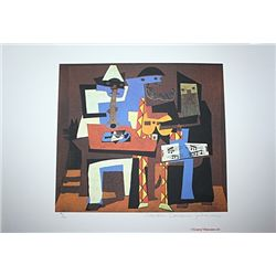Limited Edition Picasso - Three Musicians - Collection Domaine Picasso