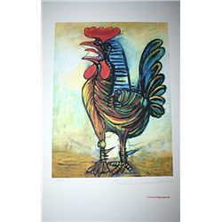 Limited Edition Picasso - The Rooster - Collection Domaine Picasso