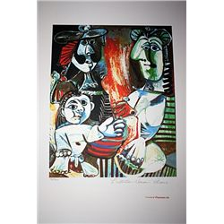 Limited Edition Picasso - Small Child With Two Women - Collection Domaine Picasso