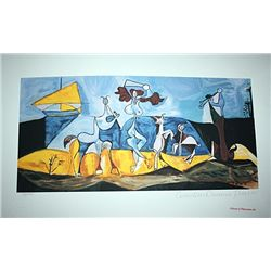 Limited Edition Picasso - Joy Of Living - Collection Domaine Picasso