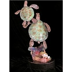 Bronze Sculpture - Harmony (small) by Deniz