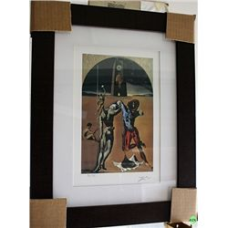 Salvador Dali Signed Limited Edition - Poetry Of America