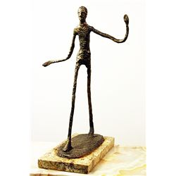 Alberto Giacometti  Original, limited Edition  Bronze - Walking Man II