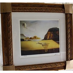 Salvador Dali Signed Limited Edition - The Transparent Simulacrim