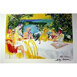 Wine Alfresco - Neiman - Lithograph