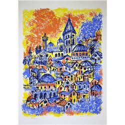 Hand Signed and Numbered Shlomo Lithograph