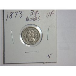 1873 3 cent NICKEL
