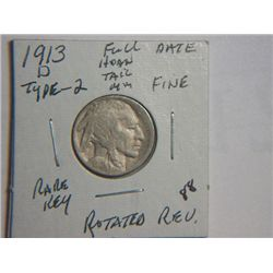1913 D BUFFALO NICKEL
