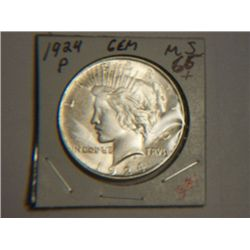 1924 P PEACE DOLLAR