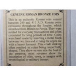 CERTIFIED A.D. ROMAN COINS