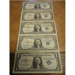 5-1957 $1 SILVER CERTIFICATES