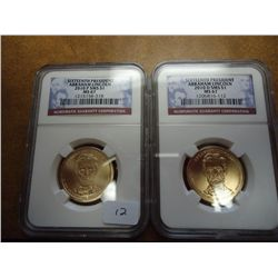 2010-P/D SMS LINCOLN DOLLARS NGC MS67