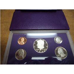 1990 US PROOF SET (WITH BOX)