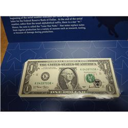 2001-$1 FRN TEXAS LONE STAR NOTE (CU)