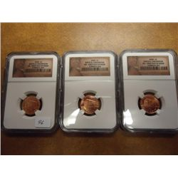 3-2009 LINCOLN BIRTH & CHILDHOOD CENTS NGC