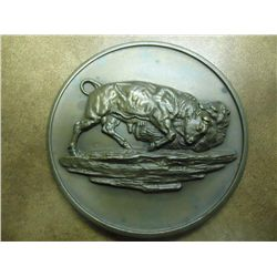 "3"" BRONZE NEW YORK STOCK EXCHANGE MEDAL"