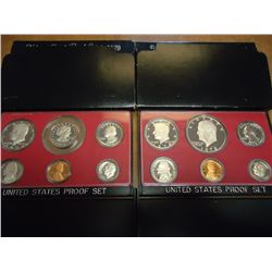 1978 & 79 US PROOF SETS (WITH BOXES)