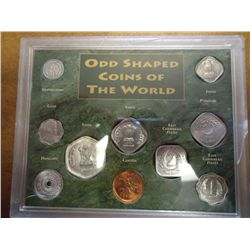 ODD SHAPED COINS OF THE WORLD CASE CRACKED