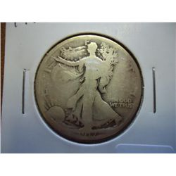 1917-S WALKING LIBERTY HALF DOLLAR