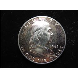 1961 FRANKLIN HALF DOLLAR PROOF