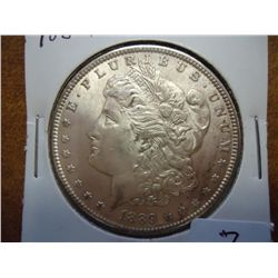 1889 MORGAN SILVER DOLLAR (UNC)