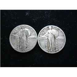 1930 & 30-S STANDING LIBERTY QUARTERS